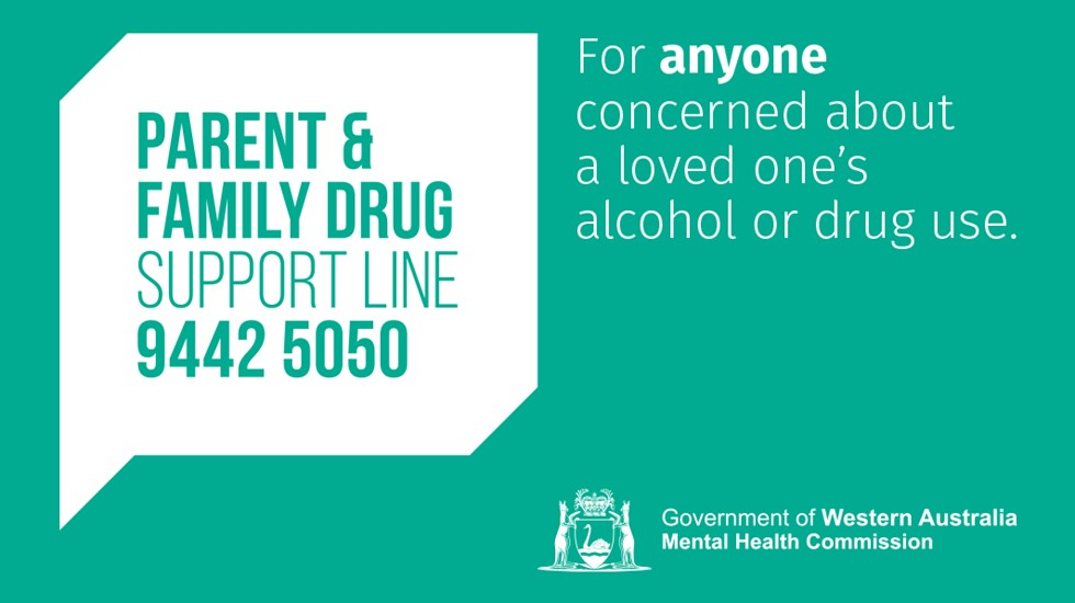 Parent and Family Drug support line 9442 5050
