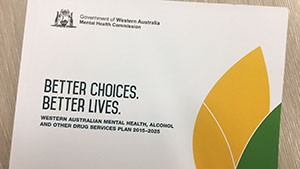 Western Australian mental health, alcohol and other drug services plan 2015-2025